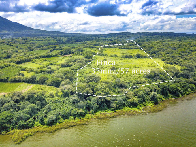 2225- 57 acres Eco Friendly farmland + Townhouse in OMETEPE, Nicaragua